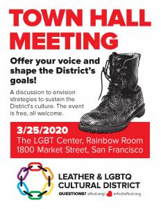Town Hall Meeting Postponed