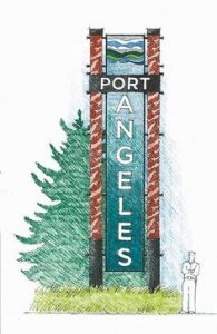 Drawing of Port Angeles Gateway