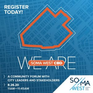 "Register for ""We Are SOMA West CBD"" Forum"