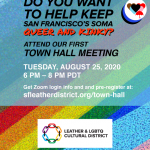 Attend Town Hall!
