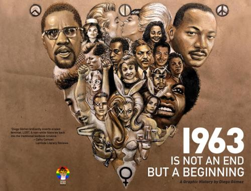 1963 Is Not An End But A Beginning - WrapAround Book Cover - Diego Gómez