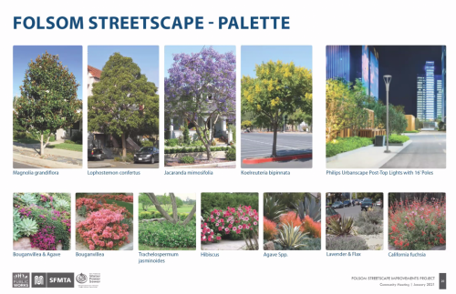 Folsom Streetscape Palette