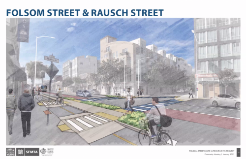 Folsom and Rausch Streets