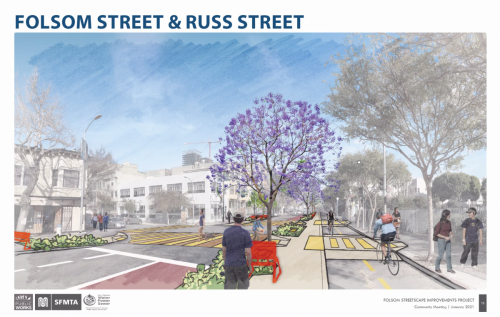 Folsom and Russ Streets